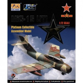 Plane plastic Model - Mig-15 UTI Red 54 CCCP