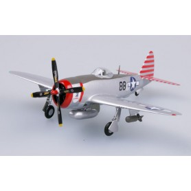 Plane plastic Model - P-47D Thunderbolt 527 FS 86 FG Rabbit - Easy Models 1/72