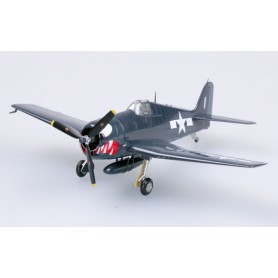 Maquette plastique - F-6F-5 Hellcat VF-27 USS Princetown - Easy Models 1/72