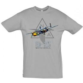 Maquette sans montageTee shirt B-25 MitchellPilots-Station