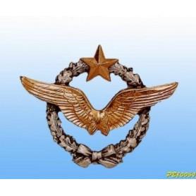 Insigne metal -Pilote Armée de l'Air - Brevet Français 4.5cm