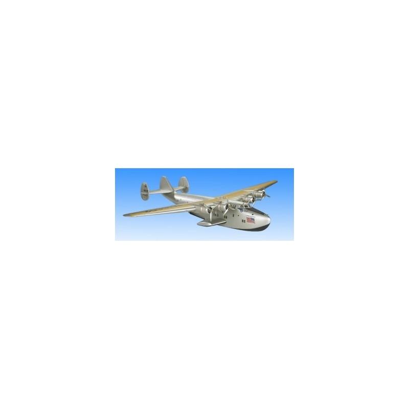 Maquette bois et toile - Boeing 314 Clipper - 57.5x80x14cm - Authentic Models