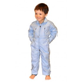 Coverall light blue