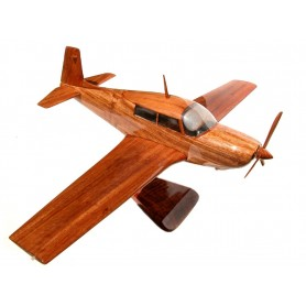 maquette avion bois - Mooney 20J