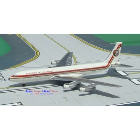 """Modell aus Metall - Egyptair B707-366C n/c """"Khafrah"""" SU-APD"""