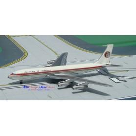 """Plane metal model - Egyptair B707-366C o/c """"Mena"""" SU-AVZ"""