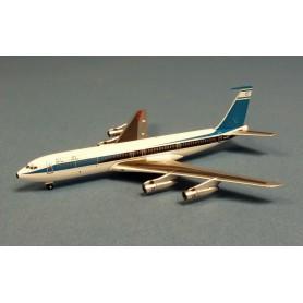 Plane metal model - EL AL Boeing 707-358 B/C 4X-ATT- Aeroclassic 1/400