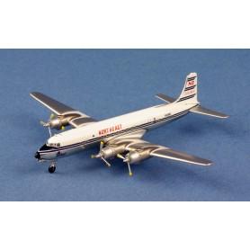 Modell aus Metall - Northeast Douglas DC-6B N6588C 1960's (polish)