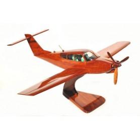 деревянная модель самолета - Piper PA 28