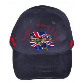 Bestickte Baseballmütze - Spitfire RAF