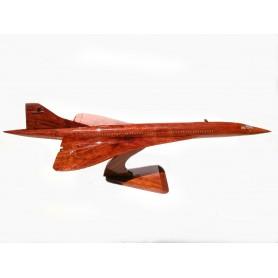 деревянная модель самолета - Concorde 55cm