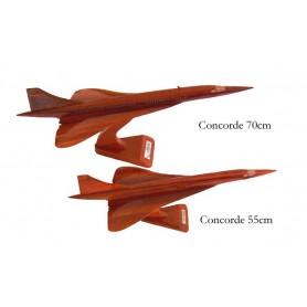 деревянная модель самолета - Concorde 70cm