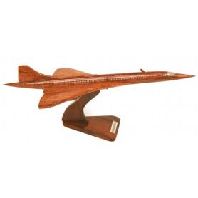 деревянная модель самолета - Concorde 35cm