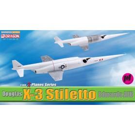 Plane metal model - Douglas X-3 Stiletto (double)