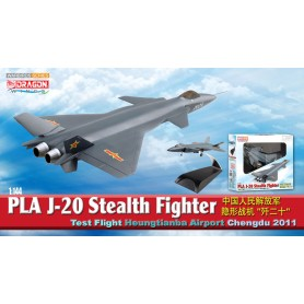 Modell aus Metall - J-20 Stealth Fighter Test Flight Heungtianba Airport 2011