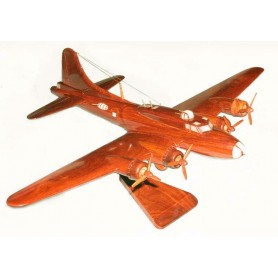 maquette avion bois - Boeing B-17