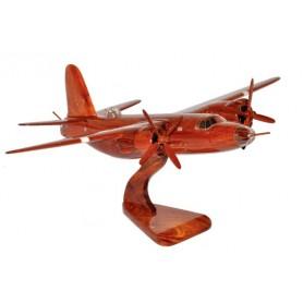 деревянная модель самолета - Boeing B-26 Marauder