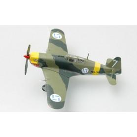 Plane plastic Model - Morane Saulnier MS406 Finland - Easy Models 1/72