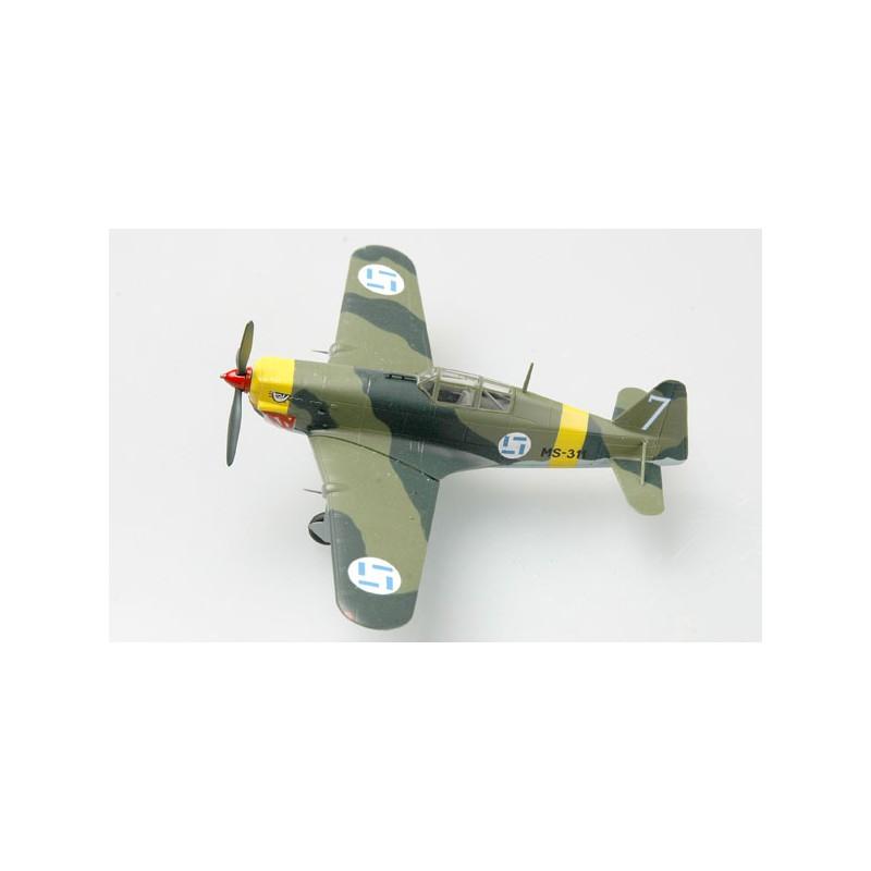 Maquette plastique - Morane Saulnier MS406 Finland - Easy Models 1/72