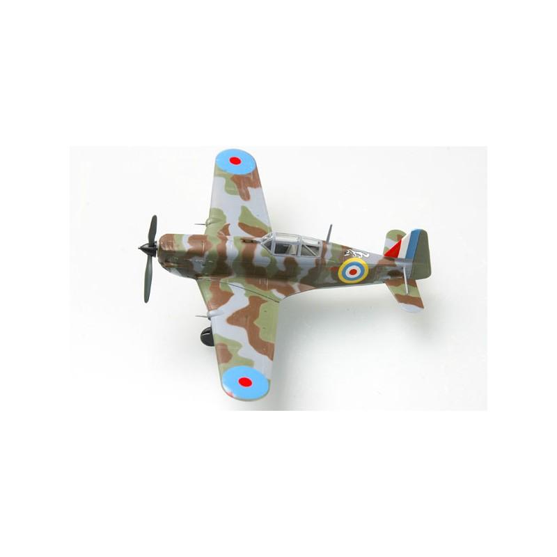 Plane plastic Model - Morane Saulnier MS406 FAFL - Haïfa - Easy Models 1/72