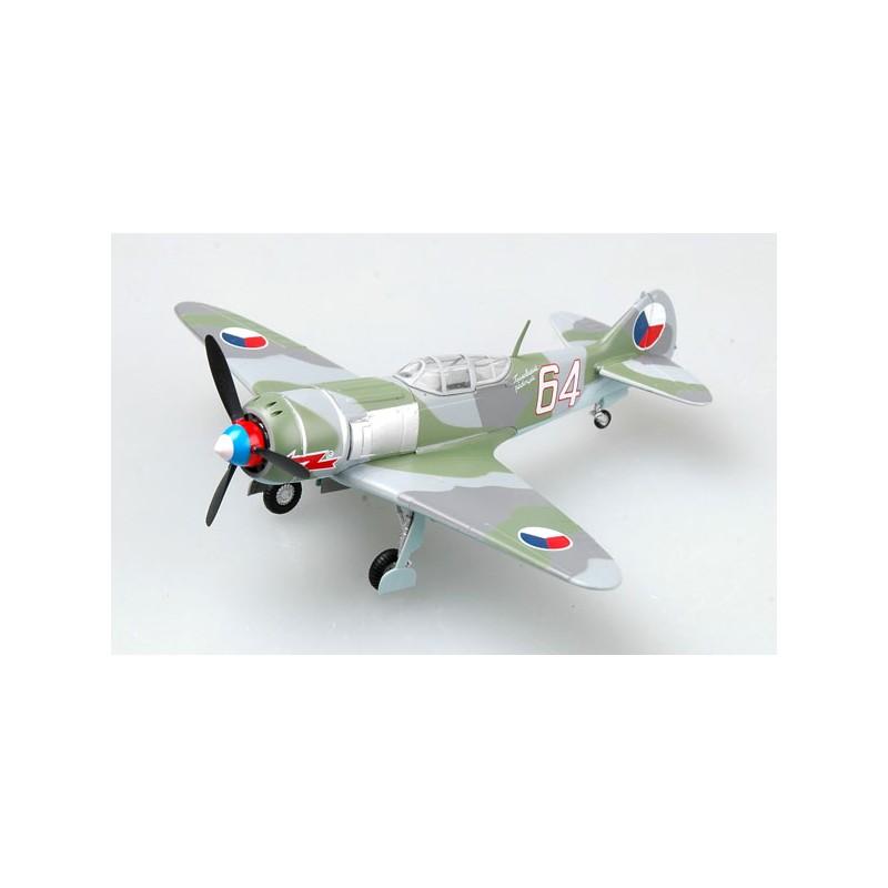 Maquette plastique - LA-7 White 64 - Tchèque - Easy Models 1/72