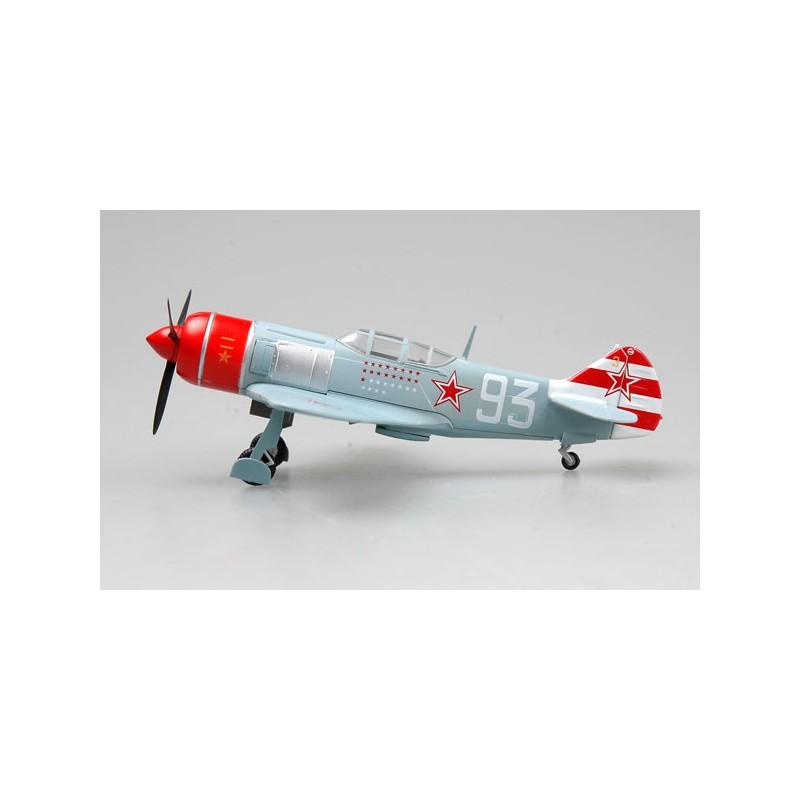 Plane plastic Model - LA-7 White 96 - S.F Dolgushin - Easy Models 1/72