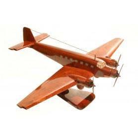 деревянная модель самолета - Junkers JU-52