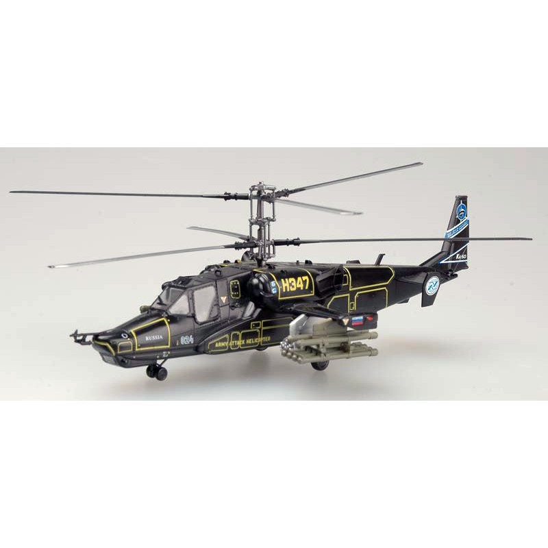 Maquette plastique - Kamov Ka-50 H347 Russian Air Force - 1/72 Easy Model