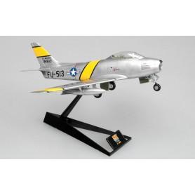 Plane plastic Model - F-86F Sabre - USAF J.Jabara - Korean War - Easy Models 1/72