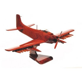 деревянная модель самолета - A-1 Skyraider Douglas
