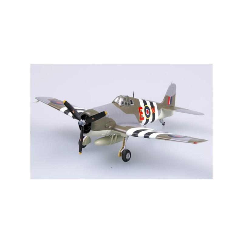 Maquette plastique - Hellcat Mk. I HMS Emperor - Easy Models 1/72