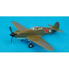 Plastic Model - P-40B Warhawk 154th IAP Soviet naval - Easy Models 1/72 - pack 2