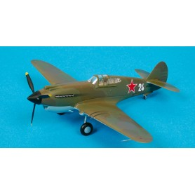 Maquette plastique - P-40B Warhawk 154th IAP Soviet naval - Easy Models 1/72 - pack 2