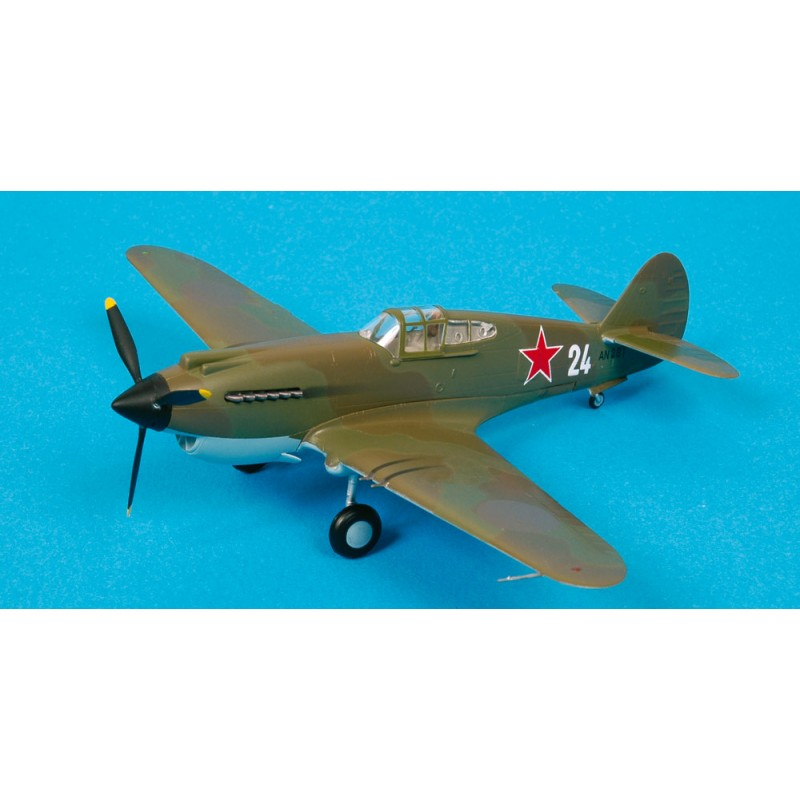 Maquette plastique - P-40B Warhawk 154th IAP Soviet naval - Easy Models 1/72 - pack 2