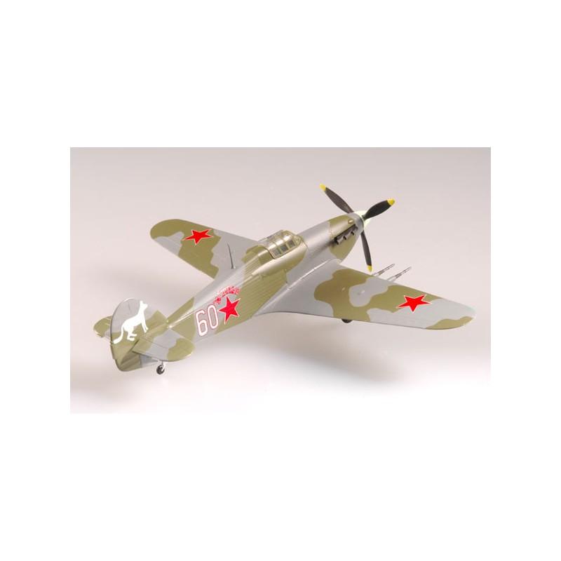 Plane plastic Model - Hurricane 609 IAP 1942 - Easy Models 1/72 - pack 2