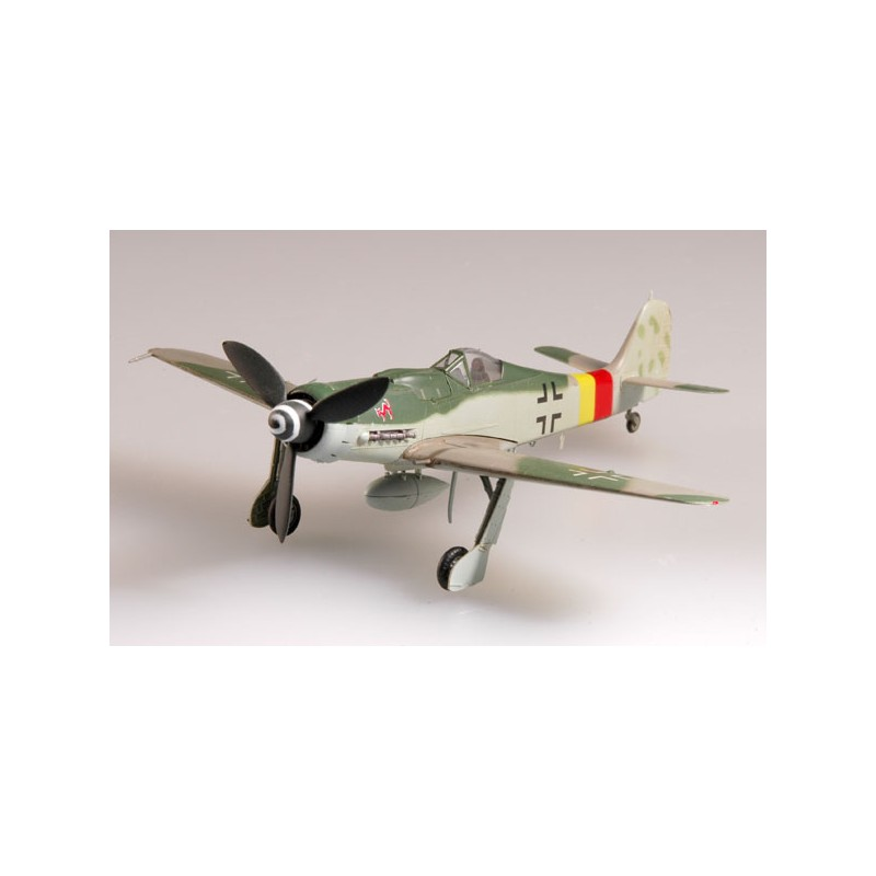 Plane plastic Model - Focke Wulf Fw190D-9 IV/JG3 Allemagne 1945- Easy Models 1/72