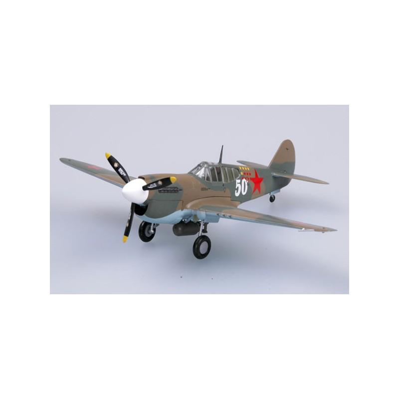 Maquette plastique - P40E CCCP IAP 1942 - Easy Models 1/72 - pack 2