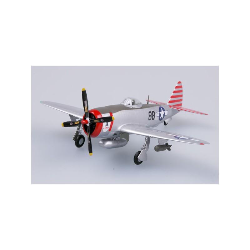 Maquette plastique - P-47D Thunderbolt 527 FS 86 FG Rabbit - Easy Models 1/72