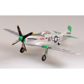 Plane plastic Model - P-51D Mustang USAAF 359FS 356FG Angleterre 1945- Easy Models 1/72