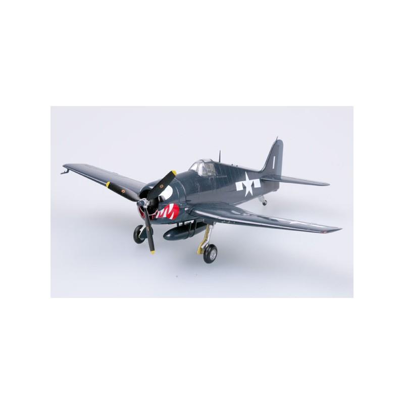 Plane plastic Model - F-6F-5 Hellcat VF-27 USS Princetown - Easy Models 1/72