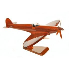 деревянная модель самолета - Spitfire