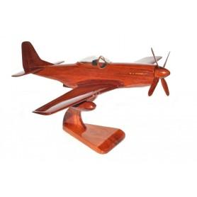 maquette avion bois - P-51 Mustang
