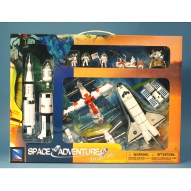 Plane plastic Model - Set/Coffret Espace 15 pcs - New Ray - 4 coffrets - 45x34.50cm