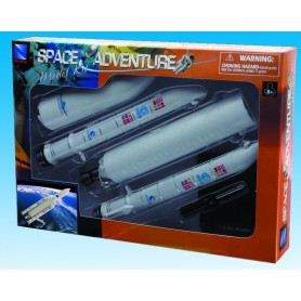 Plastic Model - Ariane 5 - Kit H32.50cm - New Ray 6pcs