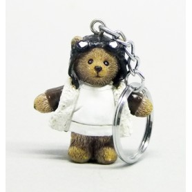 Pilot Bear Keyring - Polyresin H4cm (12)