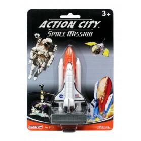 Plane plastic Model - Space Shuttle & Launcher - Mini s/blister