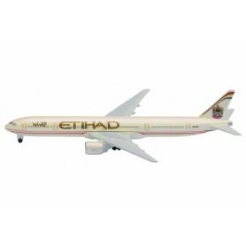 Plane metal model - Etihad Boeing 777/300 - Schabak 1/600