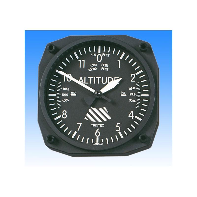 Altimeter style - Wall Clock 17x17cm