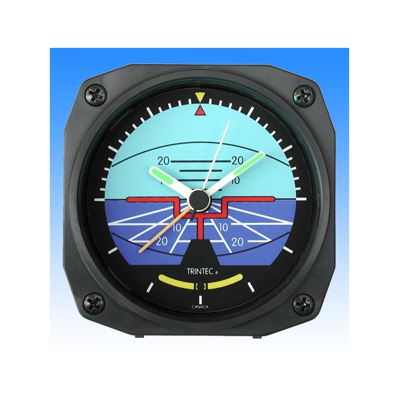 Horizon style - réveil/Travel Alarm clock - 9x9cm