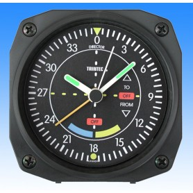 VOR style - r�veil/Travel Alarm clock - 9x9cm